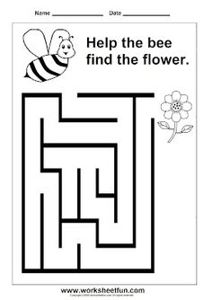 This is a photo of Old Fashioned Preschool Maze Printable