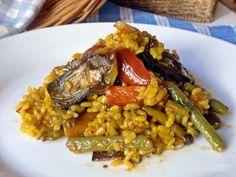 La receta que sigue tiene su origen en la comunidad valenciana. Se trata de una de las muchas recetas de las que posee esta tierra y que se basan en dicho producto. Es un plato ligero y vegetariano…