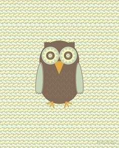 Brown Owl Cartoon Owl Images, Owl Cartoon, Cute Cartoon, Owls, Brown, Owl, Brown Colors, Cute Comics, Tawny Owl