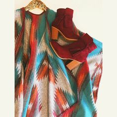 The aztec printed wrap paired with the fringe wine booties were my favorite duo that went out for festive looks today. LAST CALL: sizes |5.5| |6| remain in these gorgeous shoes