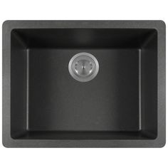 The TruGranite 808 single bowl sink is made from a granite composite material that is comprised of 80% Quartzite and 20% Acrylic. Silver ions are added to the sink during the manufacturing process tha