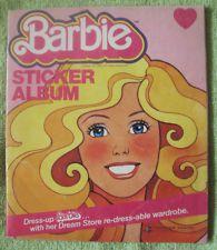 Mattel Barbie Sticker 1983 No 74 Panini