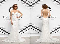 lace designer trumpet wedding dresses - Google Search