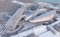 Image result for Zaha Hadid buildings