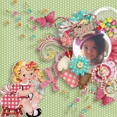sweetness185Collab Candilicious Valentina's Creations & Boutique Cute Doll  https://www.oscraps.com/shop/product.php?productid=45769