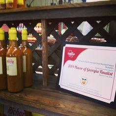 Richard's BBQ Sauce, a 2014 Flavor of Georgia Finalist! Richard's Grocery & Seafood, Homerville, GA