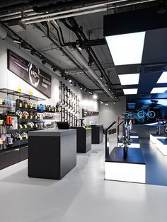 Rose Biketown Store by Blocher Blocher Partners at MONA Mall, Munich – Germany » Retail Design Blog