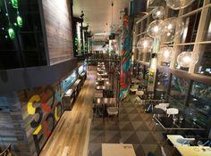 Bluetrain Restaurant by Studio Equator
