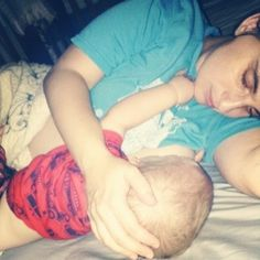 Breastfeeding toddlers might not sleep through the night and that is OK.