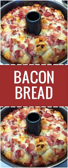 Ingredients 12 bacon strips, diced 1 loaf pound) frozen bread dough, thawed 2 tablespoons olive oil, divided 1 cup ounces) shredded part-skim mozzarella cheese 1 envelope ounce) ranch salad dressing mix Directions In a large skillet, cook bacon over Bacon Bread Recipe, Bacon Recipes, Bread Recipes, Cooking Recipes, Brunch Recipes With Bacon, Recipes With Bread Dough, Seafood Recipes, Cooking Ribs, Cooking Steak