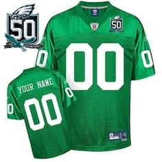 c28f81856 customized philadelphia eagles jersey youth 1960 eqt light green with 50th  patch team color Air Jordan