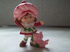 Vintage Small Strawberry Shortcake Plastic by TheHoneysuckleTree, $2.00