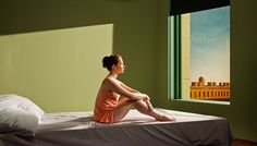 Edward Hopper Paintings Brought to Life in a Film by Gustav Deutsch