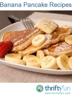 This page contains banana pancake recipes. Banana pancakes are a great alternative to plain. These fruity cakes can also be eaten without added sweetener due to their naturally sweet flavor.