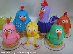 Resultado de imagem para galinha pintadinha de biscuit