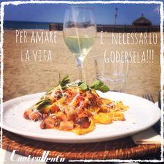 Wine & Pasta, Italian Life Style, Controvento Restaurant Beach Fregene, Rome