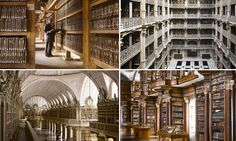 Shhh! World's most stunning libraries captured in new book that will leave you lost for words