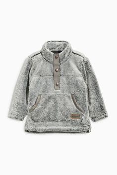 Buy Grey Snuggly Fleece (3mths-6yrs) online today at Next: United States of America
