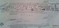 Test Fails: Circus invades test paper