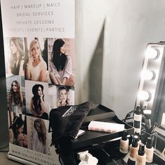 Hire our PopUp services for your next event! Whether it's a company party, a bachelorette, or a launch event, we will meet the beauty needs of your guests!! 💄💅🏻👄💋💥 #hkparty #hkevent