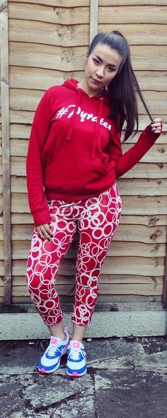 Lovely 100% cotton red Things To Buy, Stuff To Buy, Gold Print, Hoodies, Sweatshirts, Fair Trade, Lady In Red, Graphic Sweatshirt, Sweaters