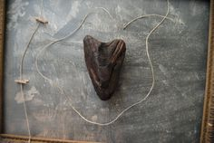 My Charred Heart Natural Driftwood Heart Sculpture: Driftwood Found Art / Beach House Decor find it at Untried on Etsy