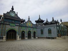 Old Mosque, Hohhot, Inner Mongolia, China