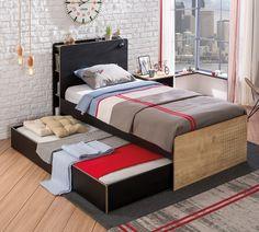 New York tienerbed kinderbed bed tienerkamer zwart hout, meisjesbed, jongensbed, inspiratie slaapkamer modern, by mm store, inspiratie jongenskamer, inspiratie meisjeskamer