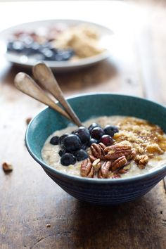 Flax and Blueberry Vanilla Overnight Oats | 15 Recipes For Overnight Oats To Start Your Day With