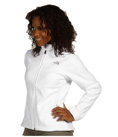 The North Face Women's WindWall® 1 Jacket TNF White - Zappos.com Free Shipping BOTH Ways