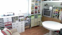 Heart and Sew Inspirations: How I Organized My Small Craft Studio