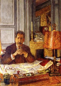 Philippe Berthelot 1928 by VUILLARD Edouard (1868-1940)