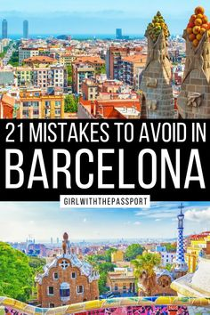 An Expert's Guide to 21 of the Biggest Mistakes that most make when they do a bit of Barcelona travel. Read this post right now so you can plan the Barcelona itinerary of your dreams! Barcelona Travel | Spain Travel | Barcelona Travel Tips | Barcelona Itinerary | Barcelona Things to do | Barcelona Travel Guide | Things to do in Barcelona | Barcelona Spain Travel Tips | Barcelona Spain Travel Guide | Barcelona Spain Things to do | Barcelona Spain Photography | #BarcelonaTravel #BarcelonaGuide Barcelona Guide, Barcelona Travel, Spain Travel Guide, European Travel Tips, Road Trip Europe, Best Places To Travel, Culture Travel, Dom, Malta