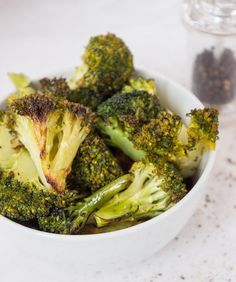 Roasted Broccoli. The best way to eat this amazing veg. Totally vegan and totally delicious.