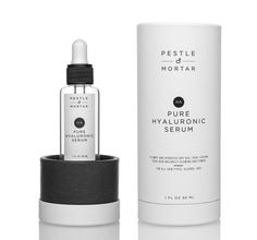 Pestle & Mortar Pure #HyaluronicSerum hydrates and soothes even the most #sensitiveskin while smoothing fine lines and restoring youthful elasticity.