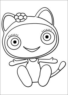 cloudbabies coloring pages for kids - photo#13