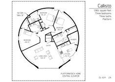 Floor Plan: DL-5011 | Monolithic Dome Institute