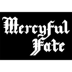 Metal Band Logos, Mercyful Fate, King Diamond, Poster Prints, Art Prints, Posters, Bumper Stickers, Black Metal, Rock N Roll