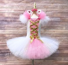A personal favorite from my Etsy shop https://www.etsy.com/listing/541090176/pink-unicorn-costume-w-unicorn-horn