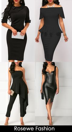Hot sale! black jumpsuits and dress, more designs and pattern at www.rosewe.com, check them out.
