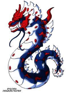 Magikarp —> Gyarados —> Ryujira Evolves when traded holding Dragon Fang. Source. Dragon / Water A collaboration between darksilvania and Masterthecreater
