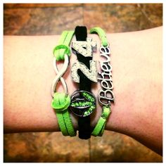 Herbalife 2 Strand Believe Bracelet by ShopAllTheRage on Etsy