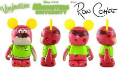 Monster University Disney Vinylmation 3'' Figure DAN CARLTON