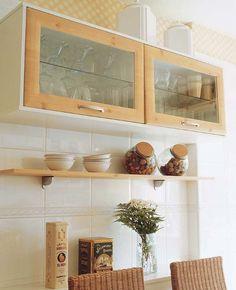Home Decor – Decor Ideas – decor Kitchen Nook, Kitchen Shelves, Kitchen Dining, Kitchen Decor, Design Kitchen, Kitchen Island, Kitchen Ideas, Cottage Kitchens, Home Kitchens