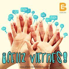 Tarea para hoy viernes: Yo quiero, Yo puedo, Yo soy capaz.  #HappyFriday http://www.elsalvadorebooks.com/