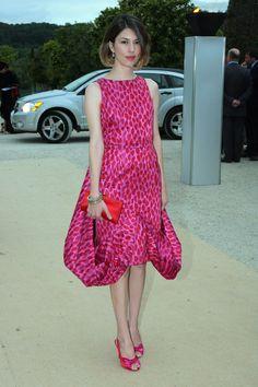 Sofia Coppola arrives at the Christian Dior Fashion show on July 2, 2007. - ELLE.com