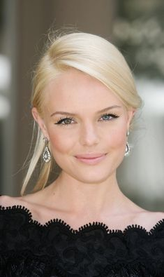 Kate Bosworth. She has two different coloured eyes!
