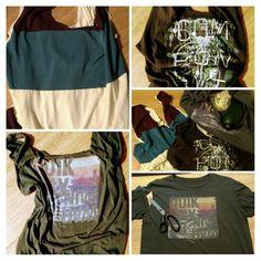 Einkaufsbeutel aus alten T-Shirts
