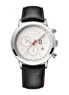98bb4cbb294 88 RUE DU RHONE 87WA140034 Quartz Chronograph Men s Watch Red Accents Best  Watches For Men