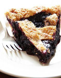 Blue & Blackberry Pie from Four & Twenty Blackbirds in Brooklyn, NY